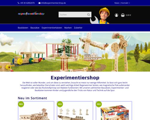 Experimentiershop
