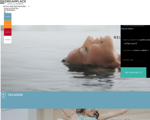 Dream Place Hotels Onlineshop