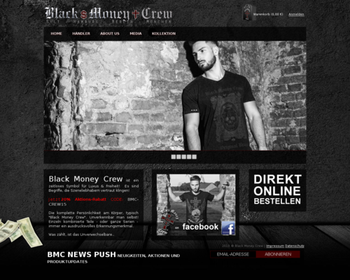 Black Money Crew Onlineshop