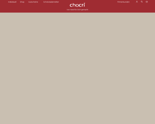 Chocri Onlineshop